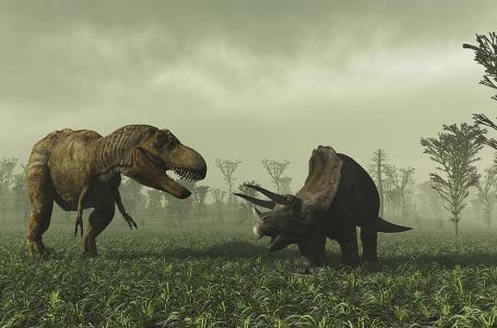 Le  crépuscule des dinosaures africains.